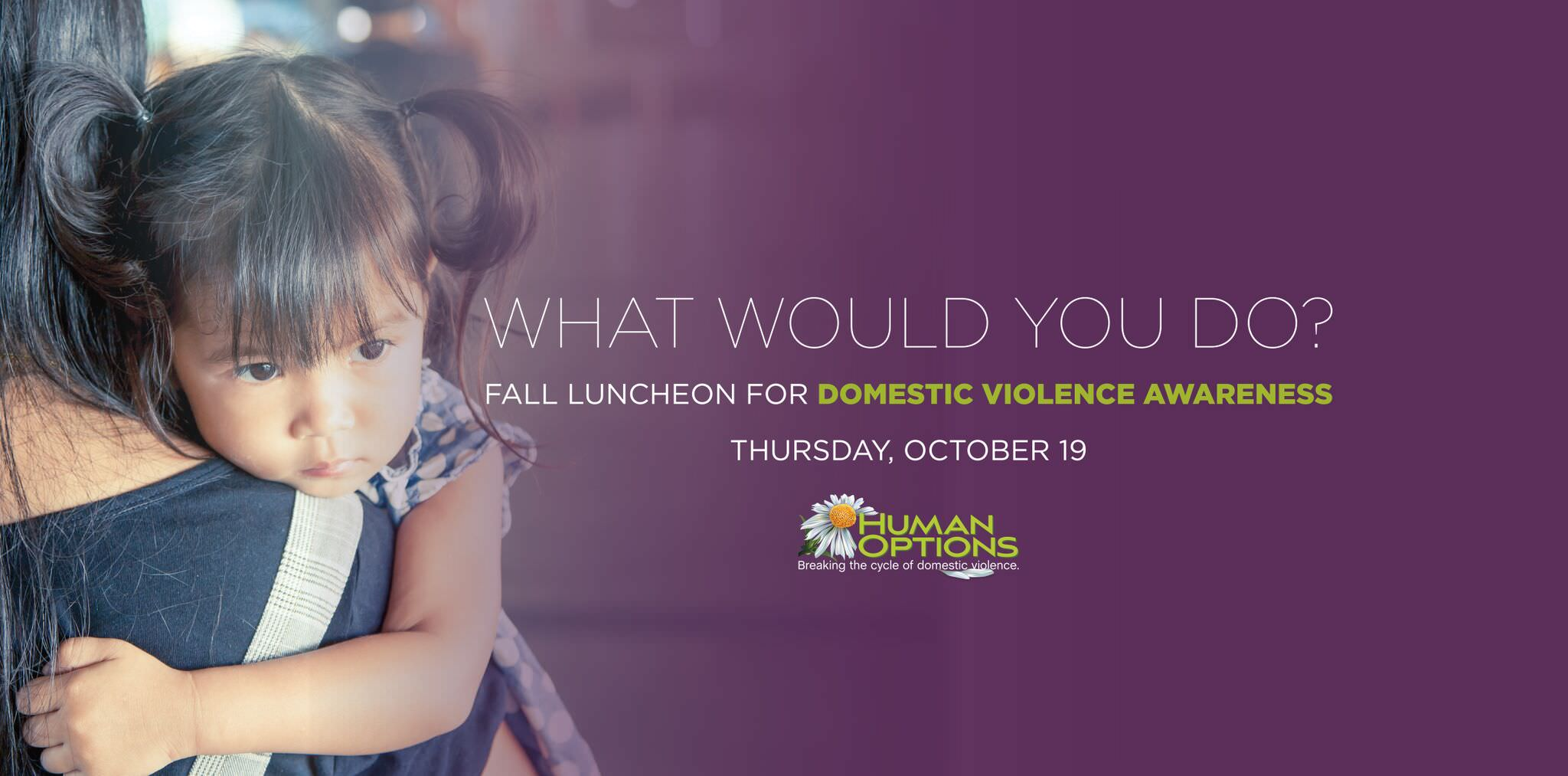 Fall Luncheon for Domestic Violence Awareness