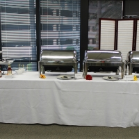 Attendees enjoyed delightful breakfast offerings